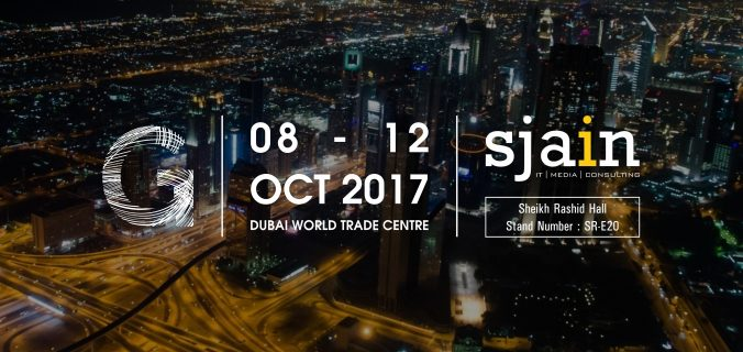 Sjain to Exhibit at GITEX Technology Week 2017