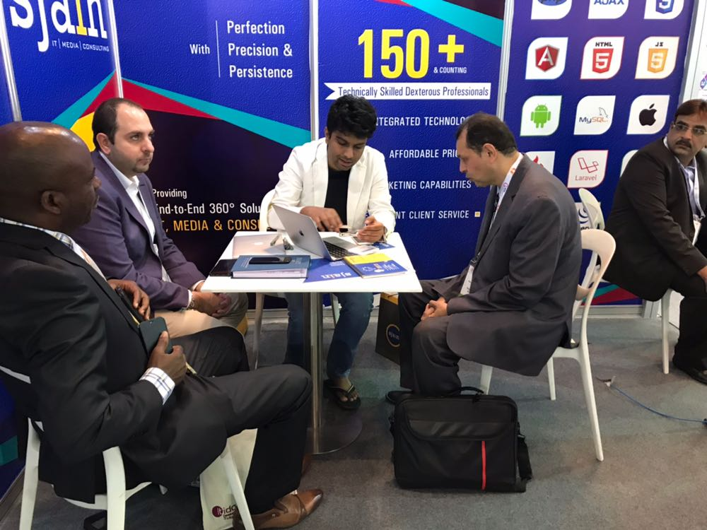 Sjain at Gitex 2017